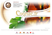 Le site officiel du Cognac