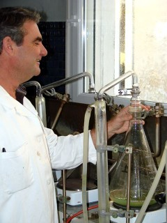 Technique de micro distillation